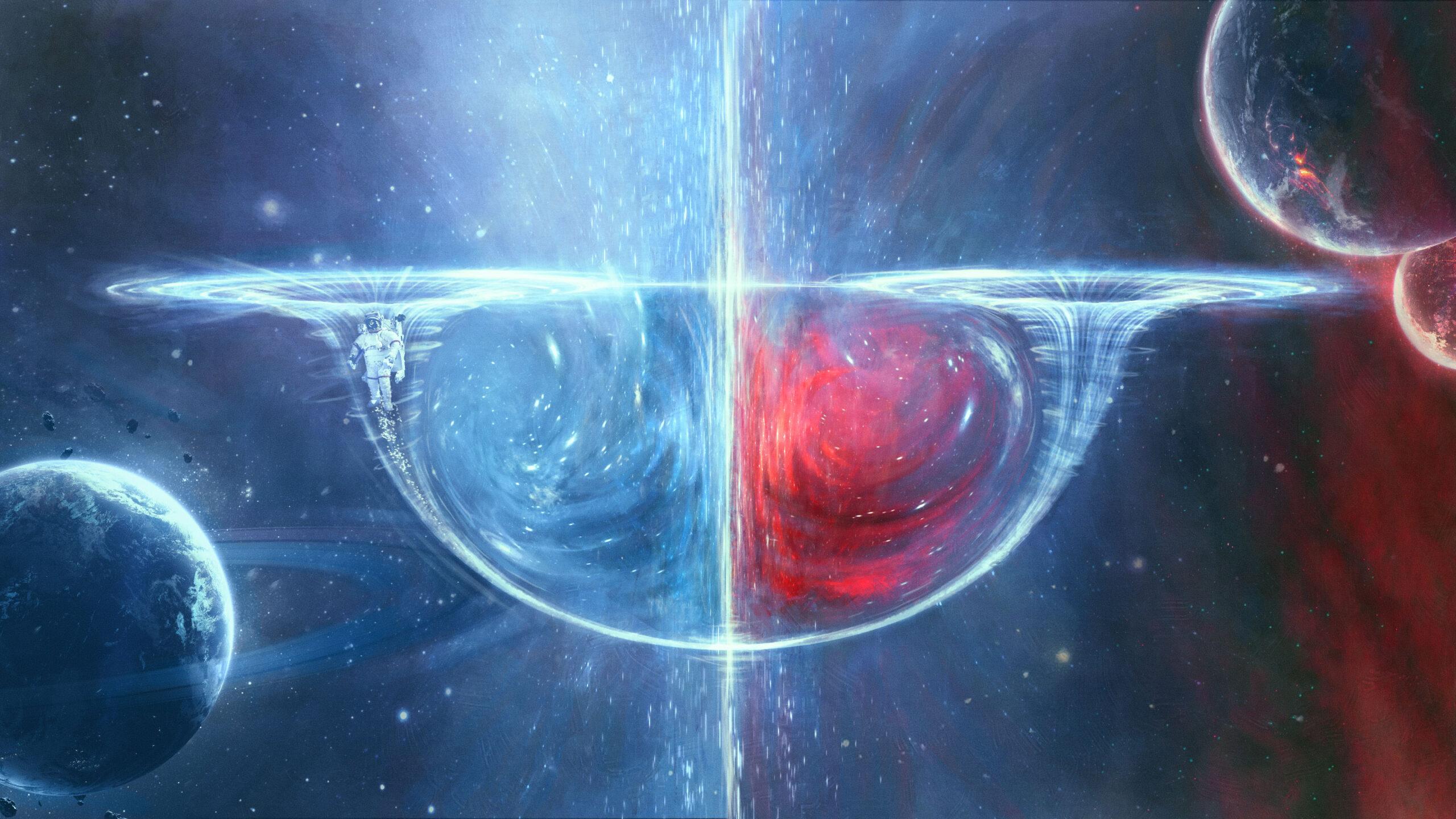 کرمچالههای کیهانی ممکن است واقعا وجود داشته باشند